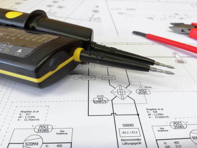 Schutzklasse, Messungen, technische Aspekte der DGUV 3 Prüfung